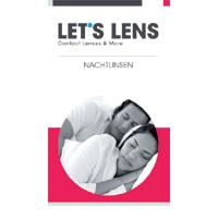 Kontaktlinsenbroschüre Nachtlinsen