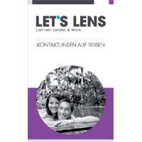 Kontaktlinsenbroschüre Auf Reisen