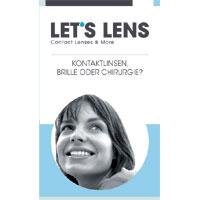 Kontaktlinsenbroschüre Kontaktlinsen, Brille oder Chirurgie?