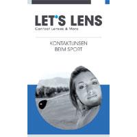 Kontaktlinsenbroschüre Beim Sport
