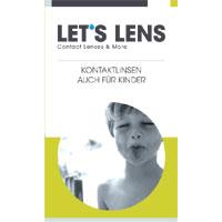 Kontaktlinsenbroschüre Auch für Kinder