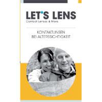 Kontaktlinsenbroschüre Bei Altersichtigkeit