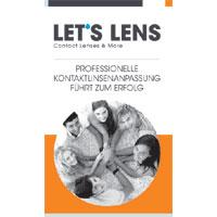 Kontaktlinsenbroschüre Professionelle Anpassung