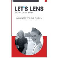 Kontaktlinsenbroschüre Wellness für die Augen
