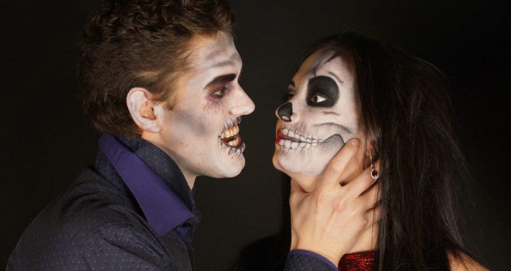 Vampirpärchen Halloween Kontaktlinsen