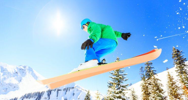 Schneesicher und augensicher: Wintersport mit Kontaktlinsen