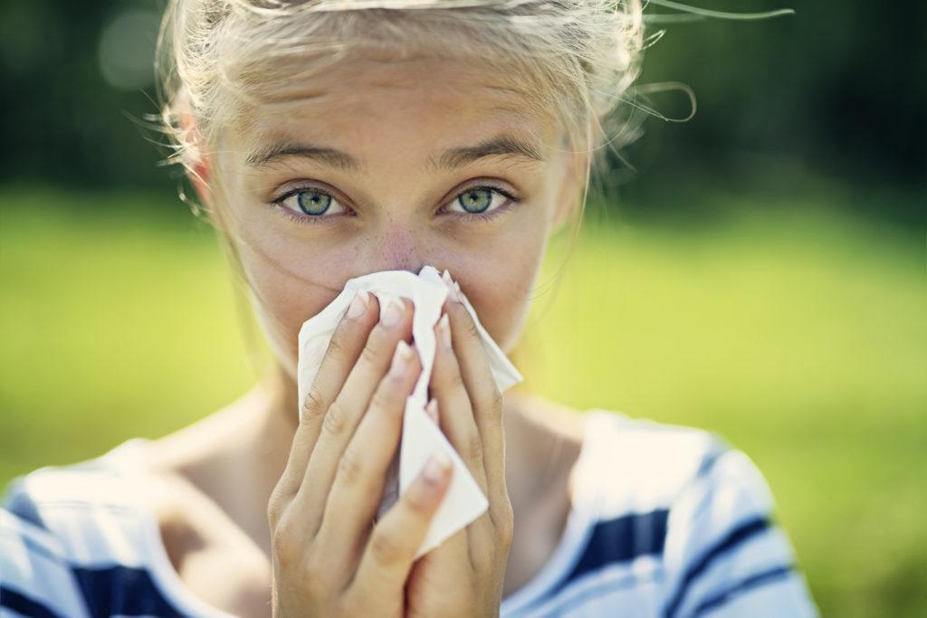 Kontaktlinsen Pollenallergie